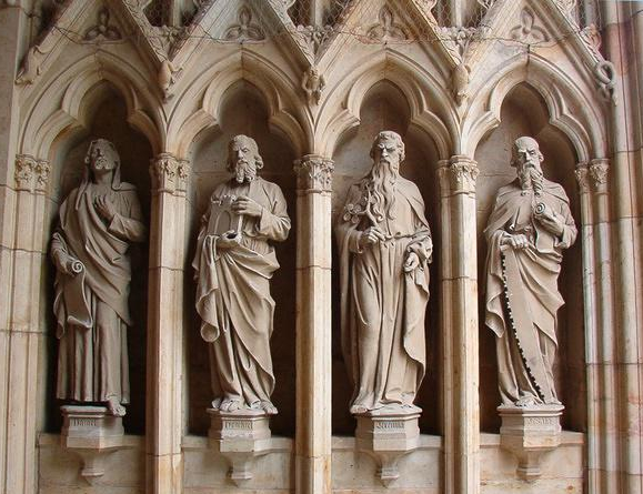Skara Cathedral Sweden - Major Prophets